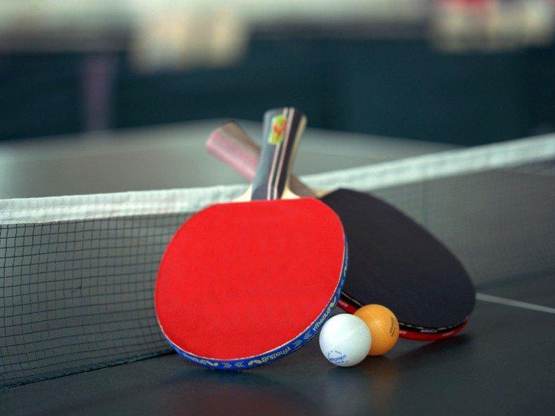 Приглашаем детей с 7 лет в секцию настольного тенниса.