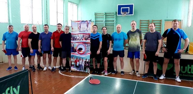Настольный теннис памяти А.Ф.Мухина
